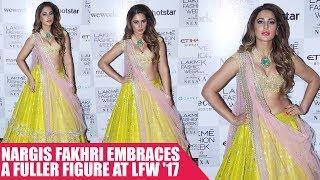 Nargis Fakhri Embraces A Fuller Figure At LFW '17