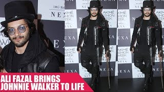 Ali Fazal Brings Johnnie Walker To Life