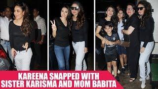 Kareena Kapoor Khan and Karisma Kapoor Shoot With Mom Babita For An Ad