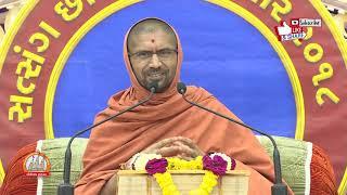 Gopalanand Swamini Vatoni Katha @ સત્સંગ છાવણી સરધાર - ૨૦૧8 Day 6