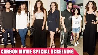 Sushant Singh, Prachi, Taapsee & Others at Screening of film Carbon