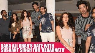 Sara Ali Khan's Date With Sushant Singh For 'Kedarnath'