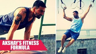 #RoadToFitness: Akshay Kumar's Undying Love for Fitness