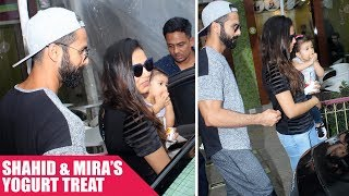 Shahid Kapoor, Mira Rajput and Daughter Misha Goes On a Lunch Date
