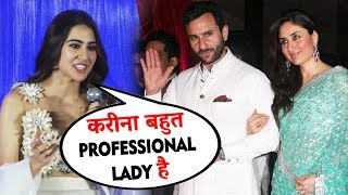 Kya Sikhaya Kareena Aur Saif Ne | Sara Ali Khan On Kareena Kapoor