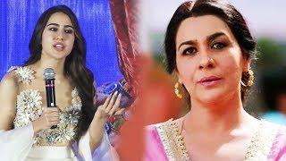 Sara Ali Khan Reaction On Looking Exactly Like Mother Amrita Singh
