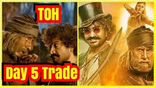 Thugs Of Hindostan Box Office Collection Trade Day 5 Estimates