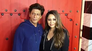 Uncut- Shah Rukh Khan With Wife Gauri Khan New Restaurant Launch Designed By Gauri Khan