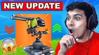 *NEW* MOUNTED TURRET IS COMING IN FORTNITE BATTLE ROYALE! (NEW WEAPON UPDATE SEASON 6)