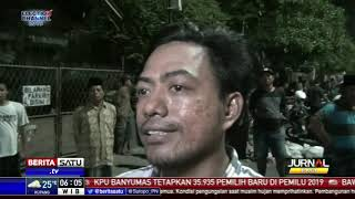 Penertiban PKL Gembong Surabaya Berlangsung Ricuh