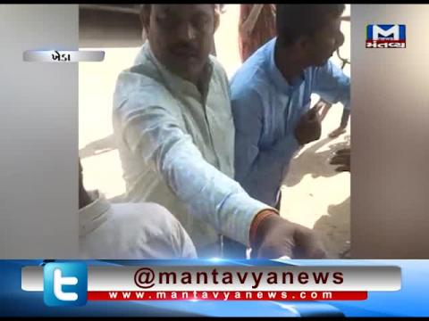 Kheda: Viral video of fight between Matar's MLA & Laval village's Sarpanch
