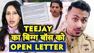 Teejay Sidhu Writes An OPEN LETTER To Bigg Boss Makers Over Karanvir's Insult   Bigg Boss 12
