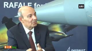 It was our decision to choose Reliance. Besides, we have 30 other offset partners - Dassault CEO