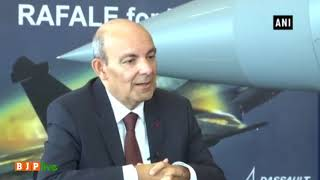 The truth is Rafale deal is a clean deal & Indian Air Force is happy with it - Dassault CEO