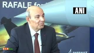 "It was my decision and the decision of Reliance to invest in a new private company"" - Dassault CEO"
