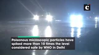Light rains across Delhi expected to bring relief from smog