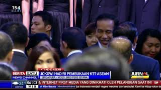Jokowi dan Iriana Hadiri Pembukaan KTT ke-33 ASEAN