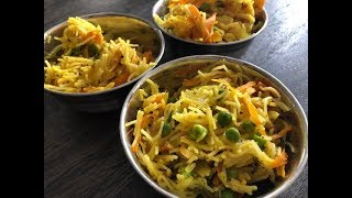 Vermicelli Upma Recipe | Indian Snack Seviyan Upma Easy