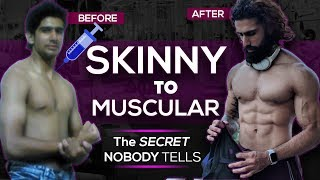 SKINNY TO MUSCLE TRANSFORMATION | Gain Weight Fast for Ectomorphs