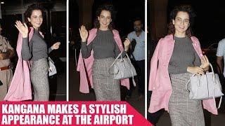 Kangana Ranaut Nails The Chic Look As She Gets Clicked At The Airport