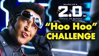 2.0 | Chitti Aka Rajnikanth Gives HOOHOO Challenge To Fans