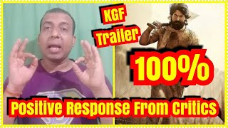 KGF Gets 100 Percent Positive Response From Critics Across The World l They All Are Excited