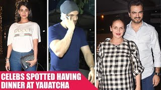 Esha Deol, Sooraj Pancholi And Some More Celebs Enjoy Dinner At Yauatcha