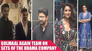 Team 'Golmaal Again' does some golmaal on the sets of The Drama Company