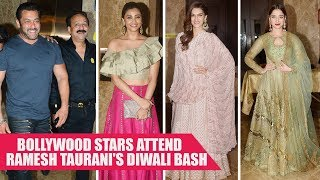 Salman Khan, Daisy Shah and others grave Ramesh Taurani's Diwali bash