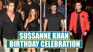 Sussanne Khan Celebrates Her Birthday With Hrithik Roshan, Karan Johar, Zayed Khan