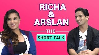 The Short Talk : Richa Chadha & Arslan Goni Talk About Road Trip Essentials
