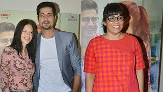 Celebrity Screening Of Movie RIBBON - Kalki Koechlin, Sumeet Vyas