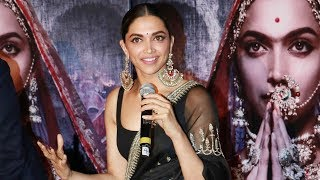 Deepika Padukone Learned Folk Dance For Ghoomar | Padmavati 3D Trailer Launch