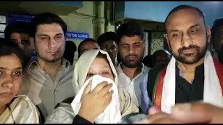 Attack By Aimim Workers On Congress Leader Ayesha Farheen Says Congress Leader Feroz Khan |