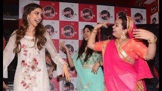 Deepika Padukone Dances On GHOOMAR At Fever 104 FM | Padmavati Promotion
