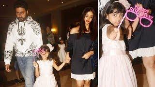 Aaradhya's Birthday Celebration With Abhishek & Aishwarya Bachchan At JW Marriott Juhu