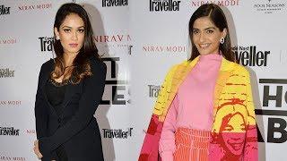 Sonam Kapoor & Mira Rajput At Red Carpet Of Condé Nast Traveller India