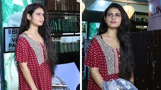 Fatima Sana Shaikh Spotted At Salon In Bandra