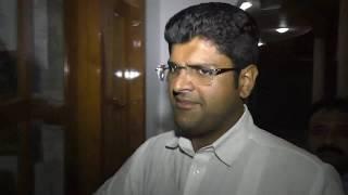 पार्टी से निलंबन पर क्या बोले दुष्यंत चौटाला#dushyant chautala, inld, M.P. Hisar