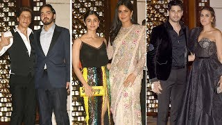 SRK, Katrina, Alia, Sidharth & Other B-Town Celebs At Ambani's Lavish Party