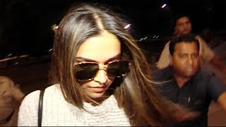 Deepika Padukone Leaves For London With Her Mother Ujala Padukone