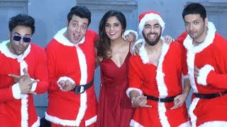 Richa Chadha Celebrates Birthday With Fukrey Returns Team - Santa Themed Party