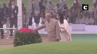 Senior Congress leaders pay tribute to Jawaharlal Nehru on his 129th birth anniversary