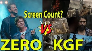 What Will Be ZERO And KGF Screen Count? Audience Poll