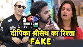 Dipika And Sreesanth Relation is FAKE Says Akash Dadlani Bigg Boss 11 Contestant | Bigg Boss 12