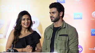 Gorgeous Divyanka Tripathi And Vivek Dahiya At World Premiere of Cirque Du Soleil BAZZAR