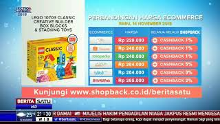 Perbandingan Harga e-Commerce: Lego 10703 Classic Creative Builder Box Blocks & Stacking Toys