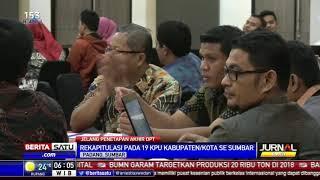 KPU Sumbar Tetapkan DPT Hasil Perbaikan Tahap II 3,6 Juta Lebih