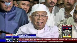Ma'ruf Ajak Ulama Doakan yang Terbaik di Pilpres 2019