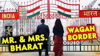 BHARAT | Salman Khan And Katrina Kaif FIRST LOOK At Wagah Border | Mr And Mrs. BHARAT
